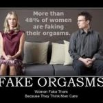 Why women fake orgasms and how to tell if she's actually climaxed.